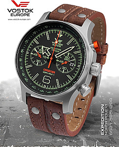 Vostok Europe Expedition Nordpol 1 Chrono Titan