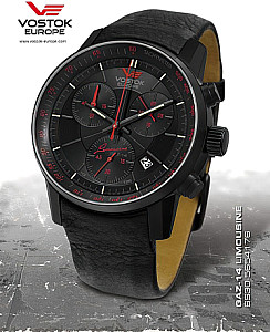 Vostok Europe GAZ 14 Grand Chrono Quartz 6S30-​5654176