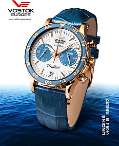 Vostok Europe Lady Line Undine gold/blau