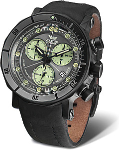 Vostok-Europe Lunokhod-2 Grand Chrono silver/black