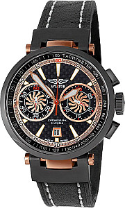Aviator Chronograph Hi-Tech Mechanisch rosegold PVD