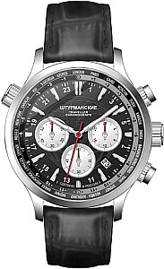 Sturmanskie Traveller Chrono Quartz S schwarz/weiß